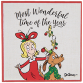 Dr. Seuss Wonderful Time Wood Wall Decor