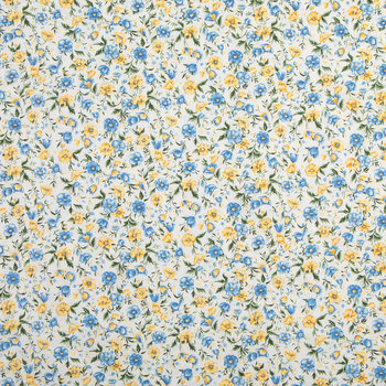 Country Charm Floral Cotton Calico Fabric