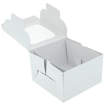 Silver Foil Single Cupcake Boxes