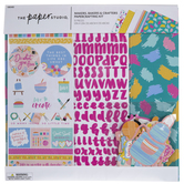 """Makers, Bakers & Crafters Scrapbook Kit - 12"""" x 12"""""""