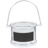Glass Container With Handle & Chalkboard - 21 Ounces