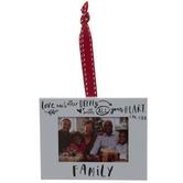 Family Frame Ornament