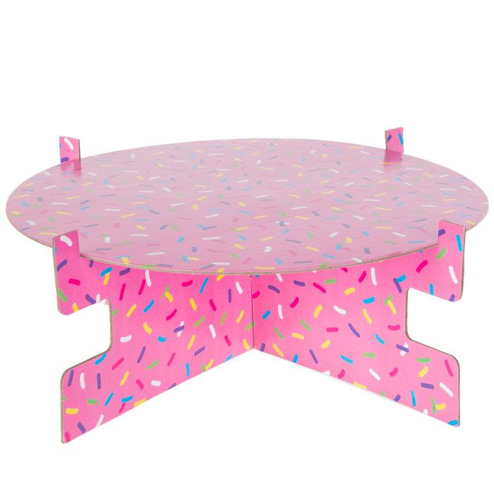 Sprinkle cake holder  Donut Treat Stand  Donut stand treat holder sprinkle sprinkles ice cream donut party cake holder cake stand