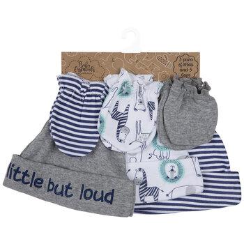 Little But Loud Mittens & Hats - 0 - 6 Months
