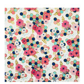 Flowers & Circles Gift Wrap
