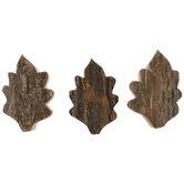 Wood Bark Leaves