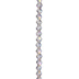 Clear AB Bicone Glass Bead Strand - 6mm