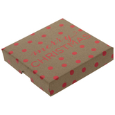 Merry Christmas Polka Dot Gift Card Holder