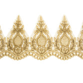 Gold Bridal Lace Trim