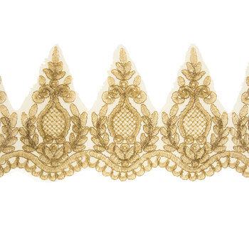 Gold Bridal Lace Trim