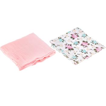 Floral Muslin Baby Blankets