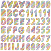 Pastel Marshmallow Alphabet Stickers