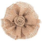 Burlap Flower Gift Clip
