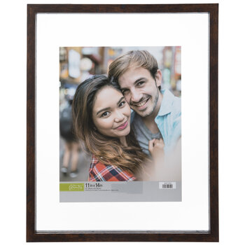 Brown Float Wood Wall Frame