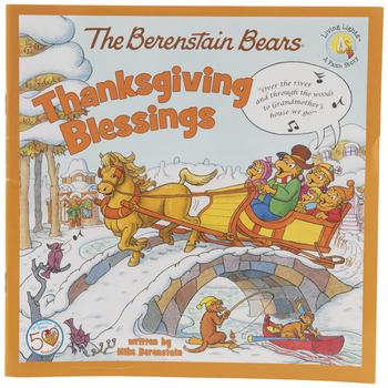 The Berenstain Bears In Thanksgiving Blessings