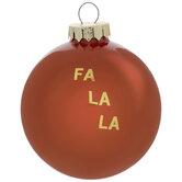Fa La La Ornament