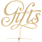 Gold Gifts Metal Decor