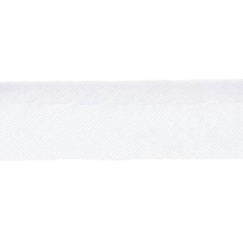 White Maxi Piping Bias Tape