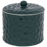Green Textured Canister - Small