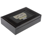 """Black Hinged Container Wood Frame - 6"""" x 4"""""""