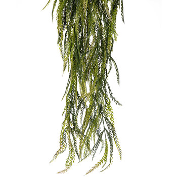 Light Green New Saw Grass Hanging Bush