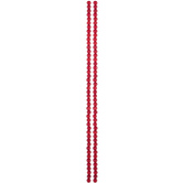 Red Bamboo Coral Round Bead Strands
