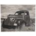 Black & White Vintage Truck Canvas Wall Decor