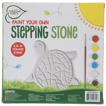 Paint Your Own Turtle Stepping Stone Kit