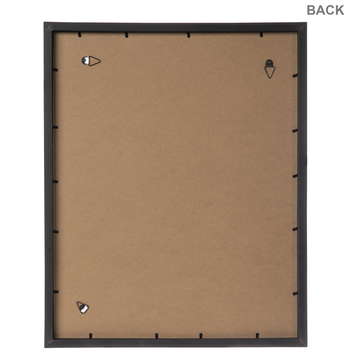 "Black Wood Wall Frame - 16"" x 20"""