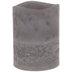 Gray Layered LED Pillar Candle - 3
