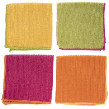 Bright Double-Sided Dish Cloths
