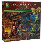 Santa's Workshop Thomas Kinkade Puzzle