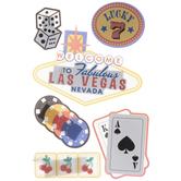 Las Vegas Icon 3D Stickers