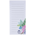 Tropical Potted Plants Magnetic Notepad