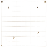 Metal Wire Memo Board With Clips