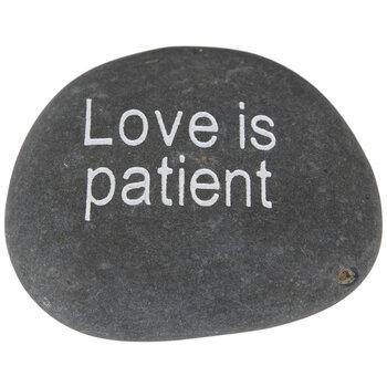 Love Is Patient Garden Stone