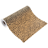 Cheetah Faux Calf Hair Trim - 8""