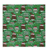 Christmas Phrases Gift Wrap