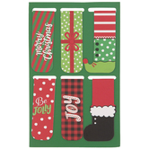 Christmas Magnetic Bookmarks