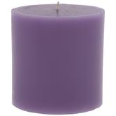 Cloudscapes Pillar Candle