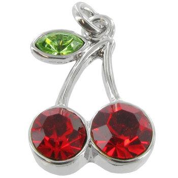 Red Cherries Charm