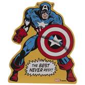 Captain America Wood Decor