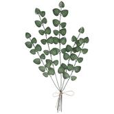 Eucalyptus Bouquet Metal Wall Decor