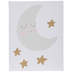 Moon & Stars Canvas Wall Decor