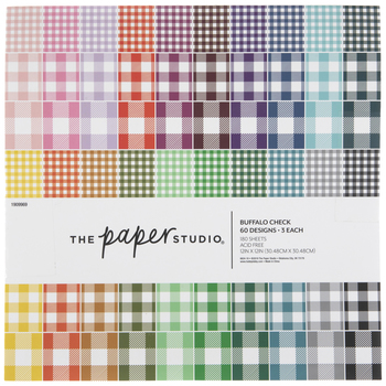 "Buffalo Check Paper Pack - 12"" x 12"""