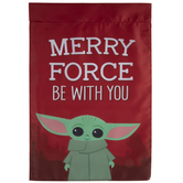 Merry Force Be With You Garden Flag