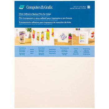 Transparent Printable Film Sheets