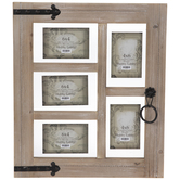 Window Frame Wood Float Collage Wall Frame