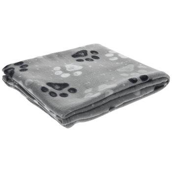 Paw Print Fleece Throw Blanket