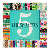 "All Seasons Five Paper Pack - 12"" x 12"""